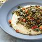 Savory Grits with Slow-Cooked Collard Greens