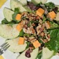 Chicken, Apple, Walnut and Cheddar Salad #Virtual SaladParty