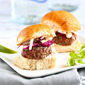 Lean Grilled Hamburger Sliders Recipe with Hot Sauce Slaw