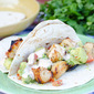 Grilled Chicken Tacos with Spiced Mayo and Avocado Salsa