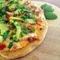 Grilled Chipotle Chicken Pizza #SundaySupper