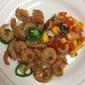 Deep-fried Salt & Pepper Shrim with Mango Salsa