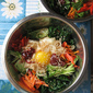 Easy Healthy Korean Bibimbap 韩式拌饭