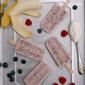 Yogurt Banana Berry Ice Pops #PicnicGame