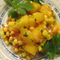 Fresh Corn and Peach Salsa