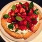 Strawberry Shortcake with Basil