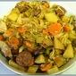 Potato Cabbage Sausage Dinner