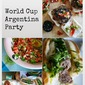 An Argentina World Cup Party: Choripan, Black Pudding Burgers and Dulce de Leche and Clotted Cream Scones