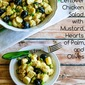 Leftover Chicken Salad with Mustard, Hearts of Palm, and Olives (Paleo, Low-Carb, Gluten-Free)