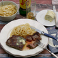 New York Strip with Whisky Herb Butter inspired by Moonstruck {food 'n flix}