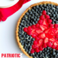 Patriotic Fruit Tart with Greek Yogurt Pastry Cream and a Chobani Giveaway!
