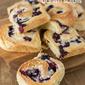 Blueberry and cream cheese danish scrolls