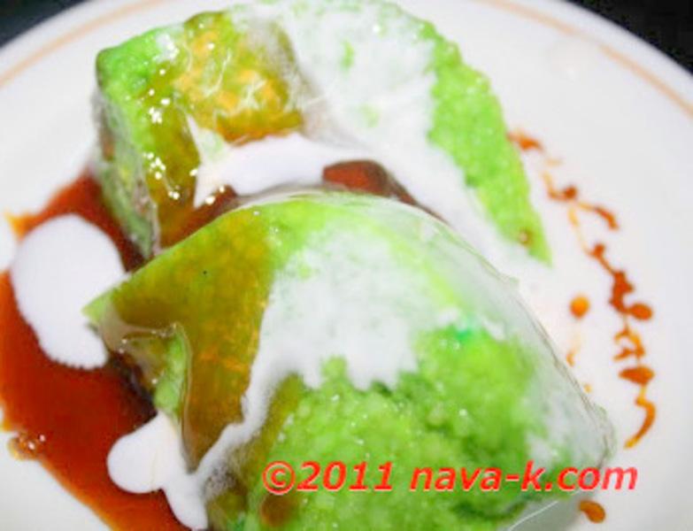 Pandan (screwpine) Rice Pudding