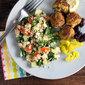 Kale and Quinoa Tabbouli #SundaySupper