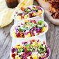 Grilled BBQ Chicken and Pineapple Tacos