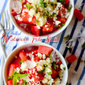 Chilled Watermelon Feta Salad