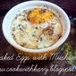 Baked Eggs 'n' Mushrooms