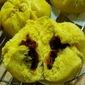 Pumpkin Char Siew Bao