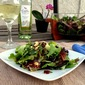 Spinach Salad with Curried Apple and Cashew Dressing #SundaySupper