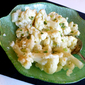Cauliflower with Lemon Mustard Butter