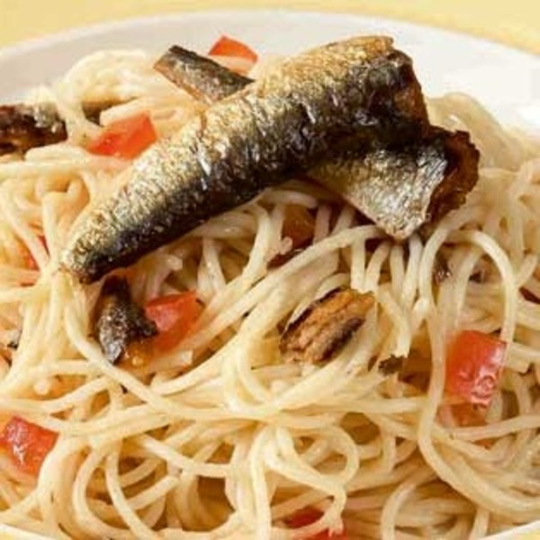 Spanish Sardines and Olive Oil Pasta