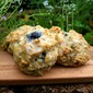 Whole Wheat Orange Blueberry Drop Biscuits