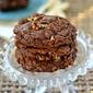 Giant Chocolate Toffee Pecan Cookies