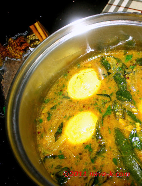 Eggs And Green Chilli Curry