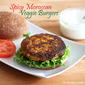 Spicy Moroccan Veggie Burgers