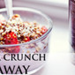 OMEGA CRUNCH GIVEAWAY & REVIEW – Crunchy ROASTED FLAX: Garlic, Maple, Sweet Cinnamon & Super Sprinkle