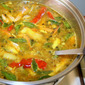 Rasam With Crab Legs