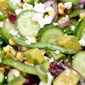 Persian Cucumber Salad With Corn And Feta (Video)