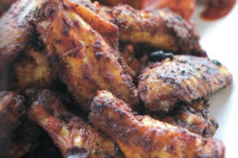 Barbecued Wings Charlotte Style