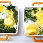 Potato, Spinach, Egg Bake