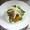 チキンサラダ、フィレンツェ風、ガーリック・レモン・ビネグレットで