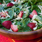 Strawberry Spinach Salad with Honey Balsamic Vinaigrette