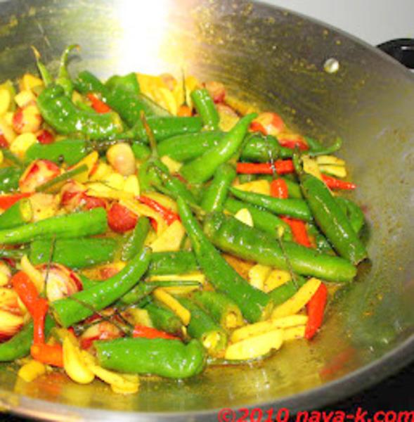 Vegetable Achar/Pickle