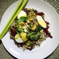 Sprouted Rice and Beet Salad
