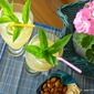 My Mint Mojito and roasted ALMOND snack