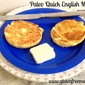 Paleo English muffins ( Quick)