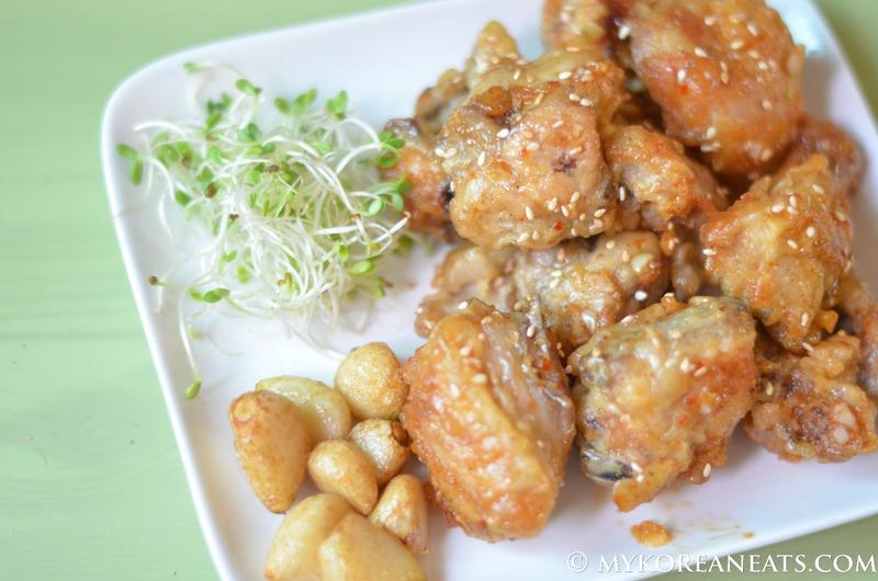Korean Fried Chicken (aka KFC)