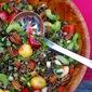 Cherry Wild Rice Salad with Mango Vinaigrette