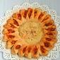 Pizza Soleil/ Sun Shaped Mushroom & Chicken Sausage Pizza