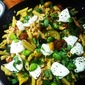 Summer Pasta Salad with Chicken and Broad Beans