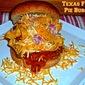 Texas Frito Pie Burger...Featuring El Diablo Texas Chili Mustard #burgermonth #hotashell