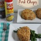 Tried and True: Oven Baked Pork Chops #EasyCookingWithPam