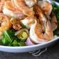 Summertime (and wintertime) salads: Barcelona Wine Bar's shrimp, arugula, orange and fennel salad.