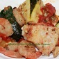Grilled Seafood Zucchini Recipe