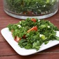 Kale and Tomato Salad with Feta and Mint
