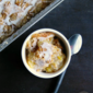 French Vanilla Glazed Peach Cobbler #TakeBackVanilla